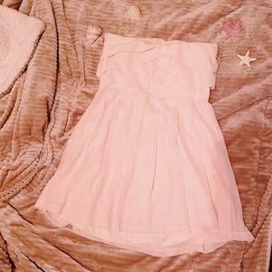 Blush Pink mini Formal dress